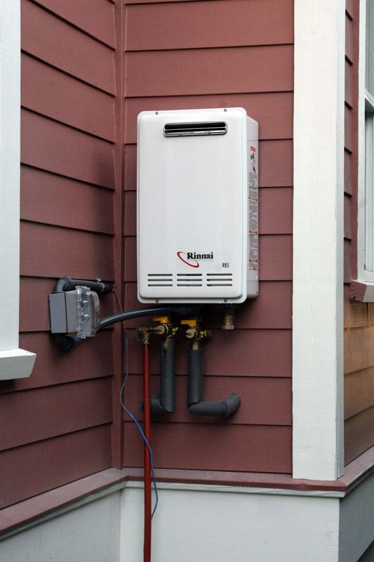 instant on hot water heaters